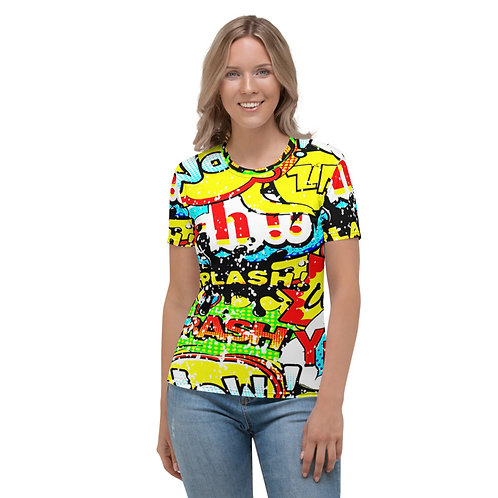TW168 - POPART PRINT ALL OVER T-SHIRT TEMPLATE FILE