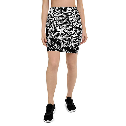 PS44 - MANDALA PRINT FOR PENCIL SKIRTS TEMPLATE FILE