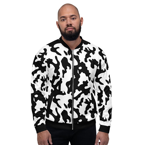 BJ030-  CAMOUFLAGE PRINT FOR UNISEX BOMBER JACKET PRINTFUL TEMPLATE FILE