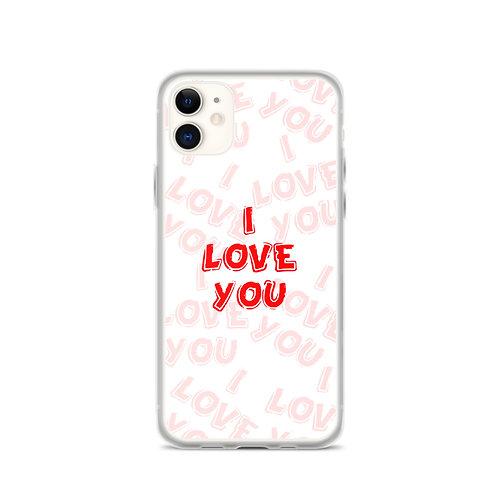 PC08 - I LOVE YOU PHONE CASE READY DESIGN PRINTFUL TEMPLATE FILE
