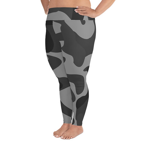 PS031- CAMOUFLAGE PRINT FOR PLUS SIZE LEGGINGS TEMPLATE FILE
