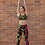 Thumbnail: SL136-COLORFUL ART YOGA LEGGINGS+LEGGINGS+SPORTS BRA SET PRINTFUL TEMPLATE FILE