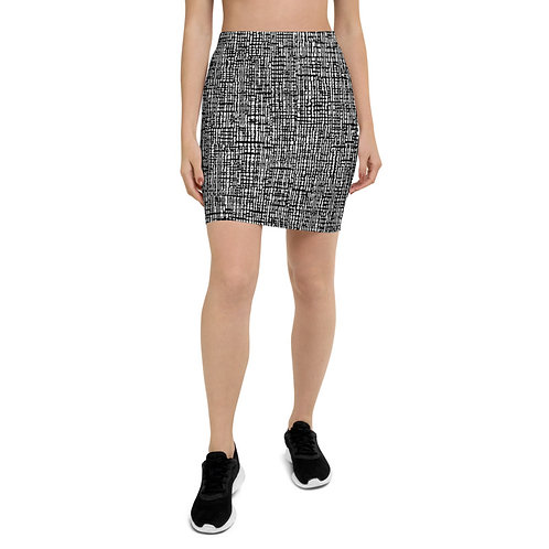 PS31 - TEXTURE PRINT FOR PENCIL SKIRTS TEMPLATE FILE
