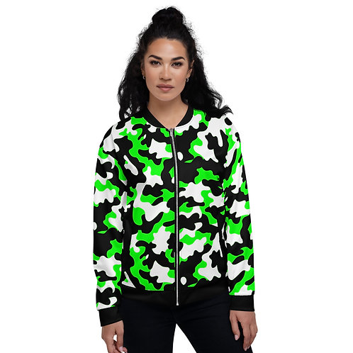 BJ010- CAMOUFLAGE ART ALL OVER PRINT UNISEX BOMBER JACKET PRINTFUL TEMPLATE FILE