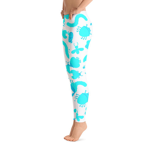J485 - INSECTS DESIGN ALL OVER PRINT LEGGINGS PRINTFUL TEMPLATE FILE