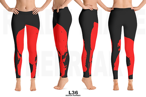 L36 - PRE MADE READY DESIGN ALL OVER LEGGINGS PRINTFUL TEMPLATE FILE