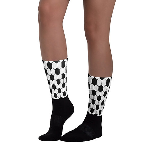 SK032- GEOMETRIC PRINT FOR BLACK FOOT SOCKS PRINTFUL TEMPLATE FILE