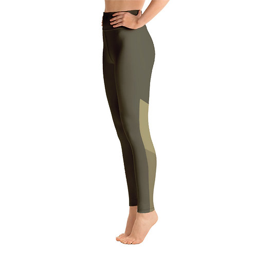 Y071 - MILITARY COLOR PRINT FOR ALL OVER YOGA LEGGINGS PRINTFUL TEMPLATE FILE