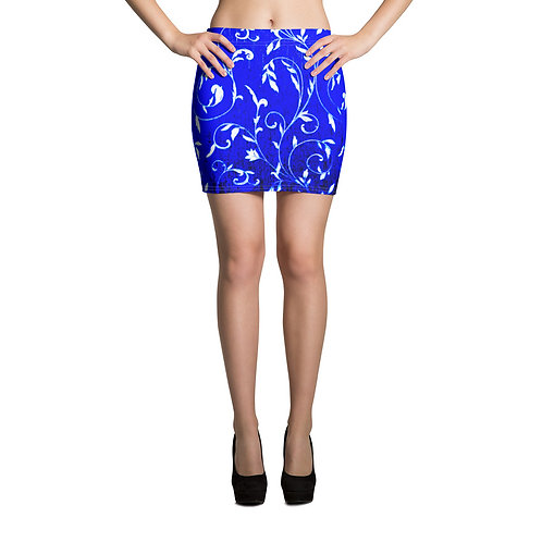 PS10 - PREMADE LEAF DESIGN ALL OVER MINI SKIRTS PRINTFUL TEMPLATE FILE