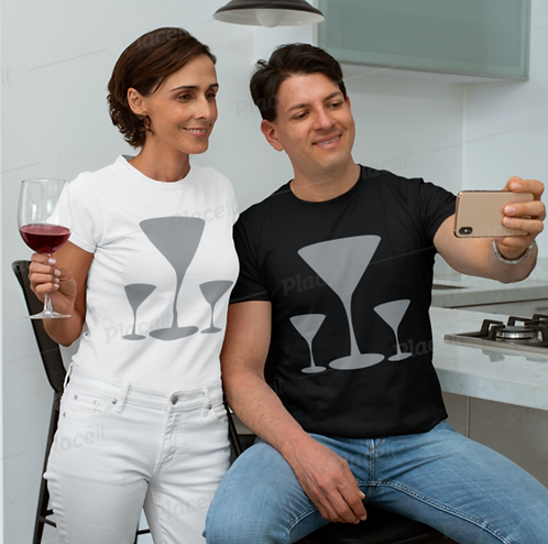 TW102 - BEER GLASS UNISEX T-SHIRT PRINTFUL TEMPLATE FILE