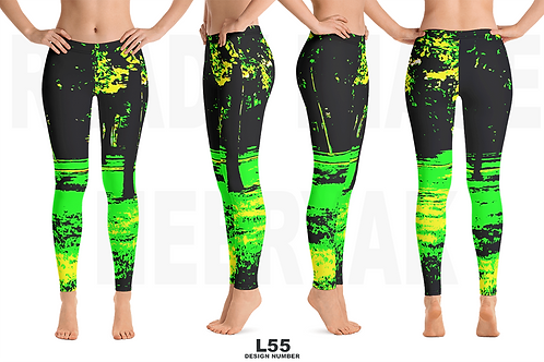 L55 - PRE MADE READY DESIGN ALL OVER LEGGINGS PRINTFUL TEMPLATE FILE