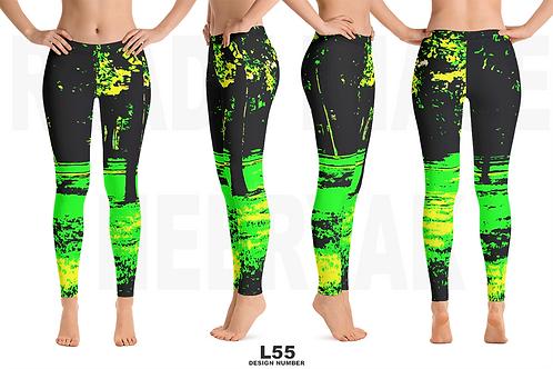 L55 - PRE MADE READY DESIGN ALL OVER LEGGINGS PRINTFUL TEMPLATE FILE