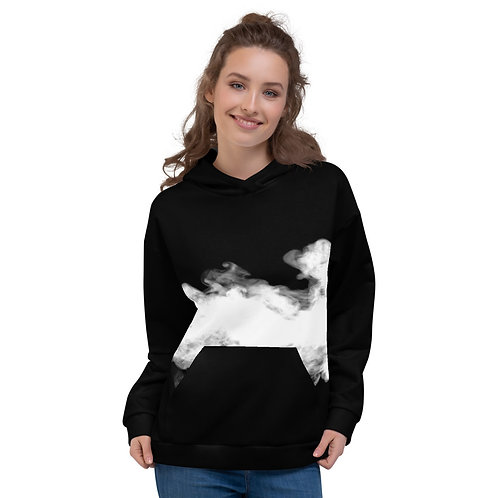 HD06- SMOKE CLOUD PRINT FOR UNISEX HOODIE PRINTFUL TEMPLATE FILE