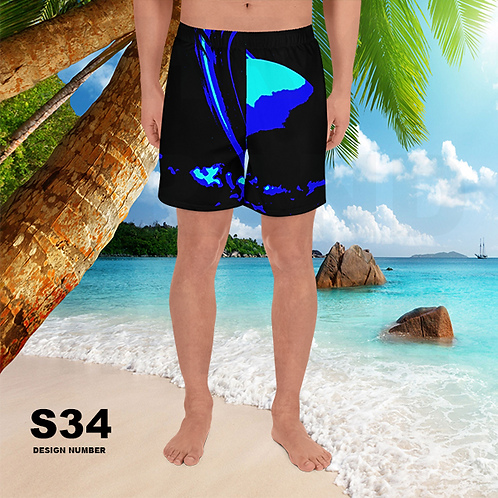 S34 - PRE MADE READY SHORTS DESIGN PRINTFUL TEMPLATE FILE