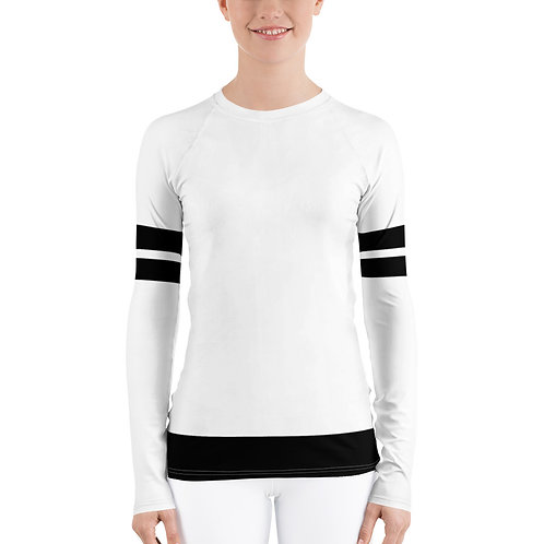 RG02- 2 STRIPES PRINT FOR UNISEX RASH GUARD PRINTFUL TEMPLATE FILE