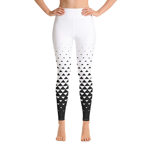 SL158-TRIANGLE ART YOGA LEGGINGS+SPORTS BRA SET PRINTFUL TEMPLATE FILE