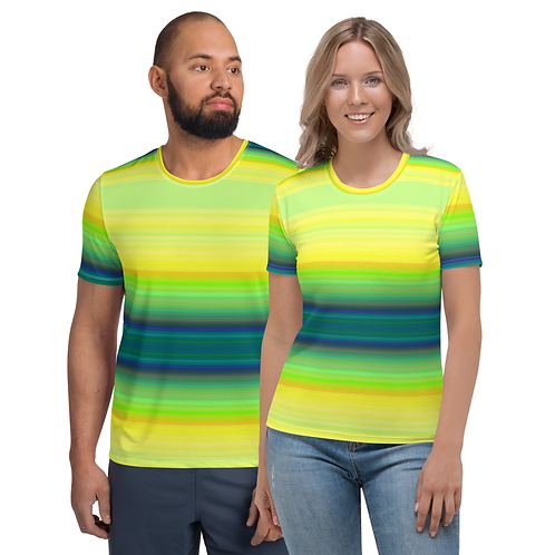 TW128 - COLORFUL ALL OVER UNISEX T-SHIRT PRINTFUL TEMPLATE FILE