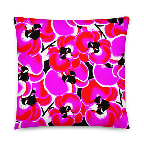 PC12 - PREMADE FLORAL DESIGN ALL OVER PILLOWS PRINTFUL TEMPLATE FILE