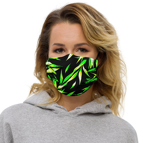 M095 - LEAVES ART ALL OVER PRINT MASK PRINTFUL TEMPLATE FILE