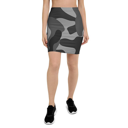 PS43 - CAMOUFLAGE PRINT FOR PENCIL SKIRTS TEMPLATE FILE