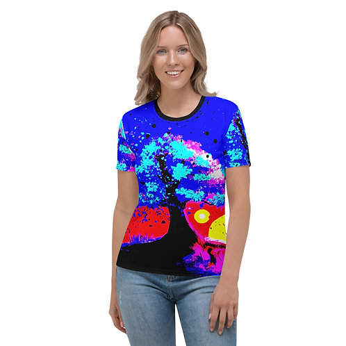 TW183 - TREE NATURE PRINT ALL OVER T-SHIRT TEMPLATE FILE