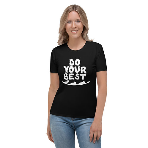 TW137 - DO YOUR BEST PRINT ALL OVER UNISEX T-SHIRT PRINTFUL TEMPLATE FILE