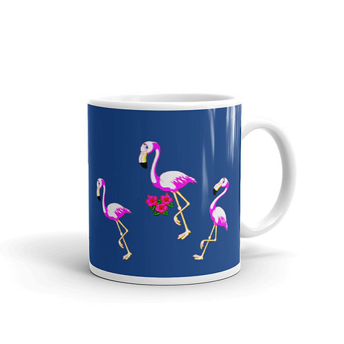 M007 - FLAMINGO MUG READY DESIGN PRINTFUL TEMPLATE FILE