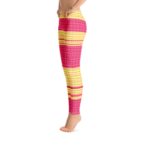 H355 - CHECKS ART LEGGINGS READY DESIGN PRINTFUL TEMPLATE FILE