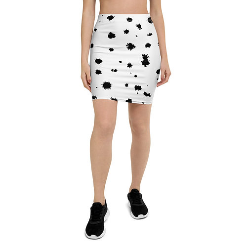PS22 - DOG SKIN ANIMAL PRINT FOR PENCIL SKIRTS TEMPLATE FILE