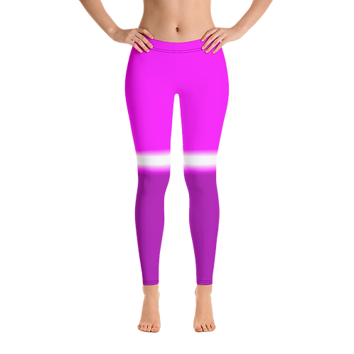H435 - SPORTY PINK WHITE PRINT FOR LEGGINGS TEMPLATE FILE