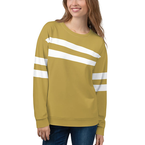 SW007-  TWO STRIPE SAND COLOR PRINT FOR UNISEX SWEATSHIRT PRINTFUL TEMPLATE FILE