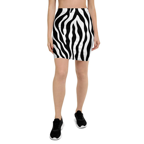 PS19 - ZEBRA SKIN ANIMAL PRINT FOR PENCIL SKIRTS TEMPLATE FILE