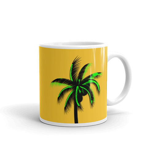 M009 - PALM TREE MUG READY DESIGN PRINTFUL TEMPLATE FILE