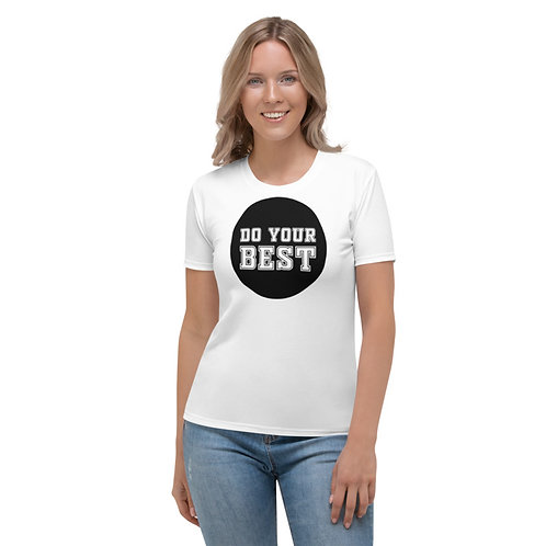 TW136 - DO YOUR BEST PRINT ALL OVER UNISEX T-SHIRT PRINTFUL TEMPLATE FILE