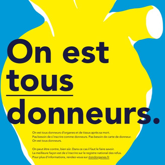 French National Organ Donation Day 2019