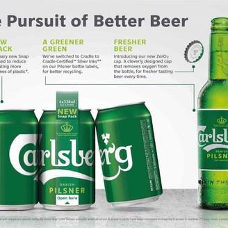 Carlsberg reveals its revolutionary Snap Pack