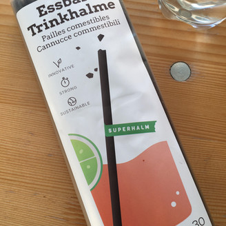 TRY AND SHARE - Eatable straws, you said?