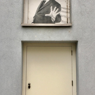 [Zug Art Project] Alfred Hitchcock in St Moritz