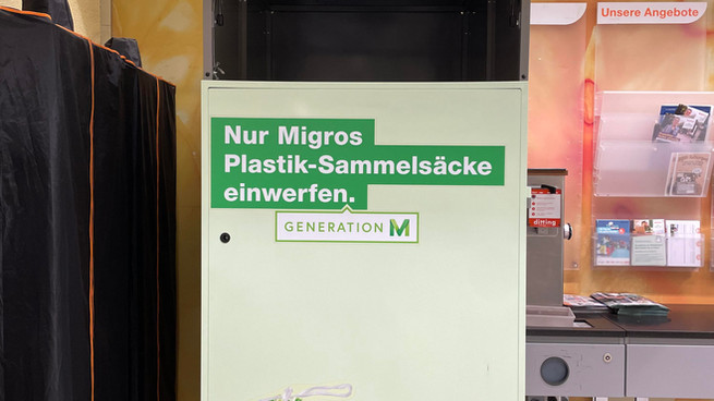 TRY AND SHARE - Migros' plastic recycling
