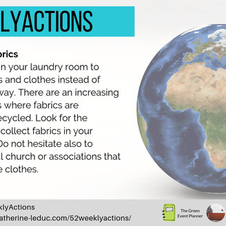 #52WEEKLYACTIONS - Week 10!