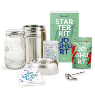 TRY AND SHARE - making my own yoghurt with Fairment's starter kit