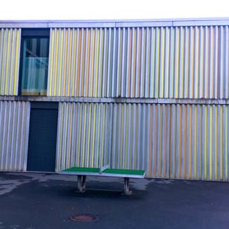 [Zug Art Project] Farbe am Bau