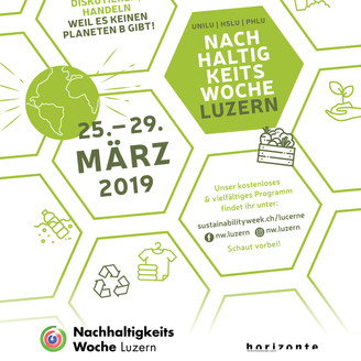 Sustainability Week in Lucerne, 25-29 March 2019