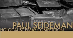 Paul Seideman essay competition