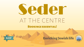Celebrate Pesach with seder at the Centre!