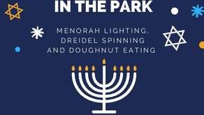 Chanukah in the Park 5777!