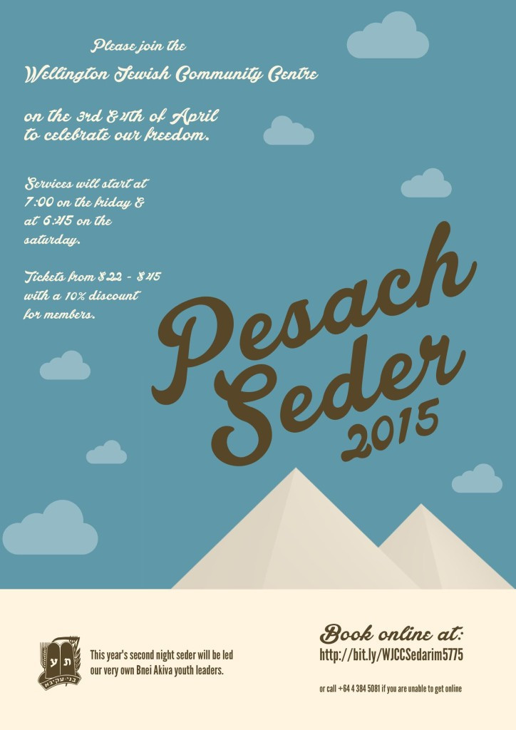 Seder at the Centre 2015