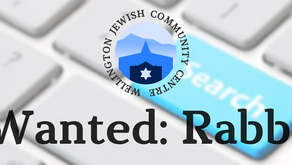 We're looking for an interim rabbi