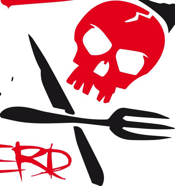 Rote Brigade Eventcatering Logo, Partyservice Heilbronn,