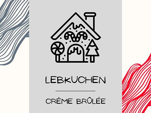 Lebkuchen Creme Brülee